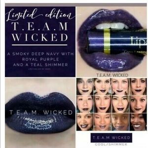 New sealed TEAM Wicked Lipsense